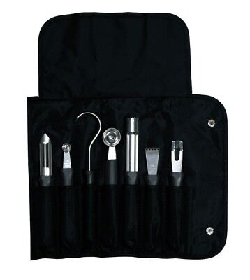 Dexter Russell Professional 7-Piece Garnishing Tool Set + Roll Bag CC77 / 20207 Dexter Russell 7