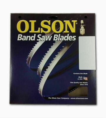 Olson Saw FB14593DB HEFB Band 6-TPI Skip Saw Blade, 1/4 by .