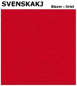 $402 Value! 4.15m Svenska kJ Blazer Oriel Red DESIGNER UPHOLSTERY Fabric #381