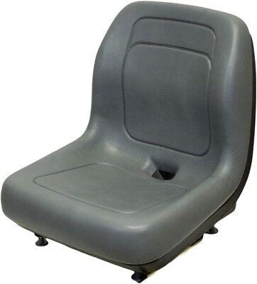 Ford New Holland Gray Skid Steer Seat Fits L120 L125 L140 L150 L220 L445 Etc
