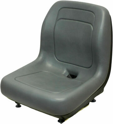 Case Gray Skid Steer Loader Bucket Seat Fits 410 420 420ct 430 435 440 440ct Qi
