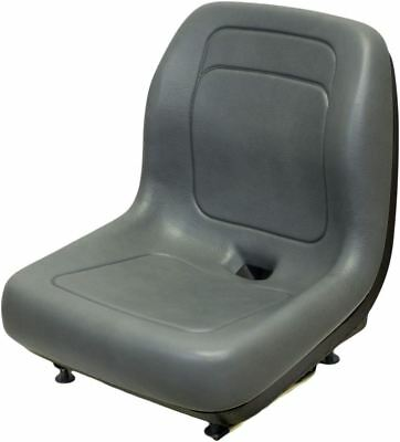 Ford New Holland Gray Skid Steer Seat Fits Ls120 Ls125 Ls140 Ls150 Ls160 Etc