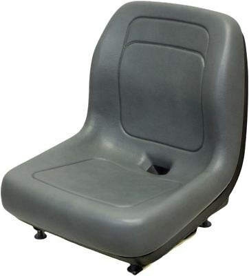 Bobcat Gray Skid Steer Bucket Seat Fits 310 371 743 853h 2400 7753 S160 Etc