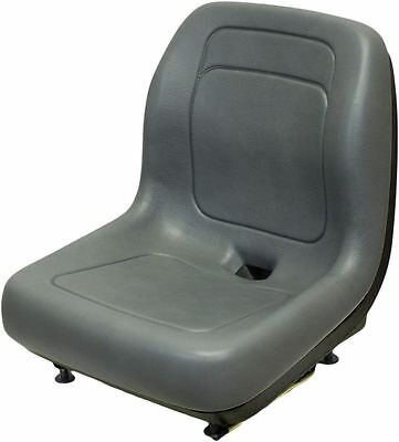 Ford New Holland Skid Steer Seat Gray Fits Ls120 Ls125 Ls140 Ls150ls160 Qi