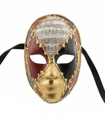 Mask Venice Volto Face Female Carmina Authentic Venetian 1028 V6