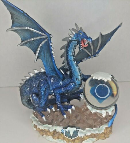 """7"""" Tall Guardian Dragon of the Icy Waters from the Dragonstone Collection"""