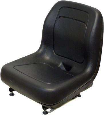 Ford New Holland Black Skid Steer Seat Fits L120 L125 L140 L150 L220 L445 Etc