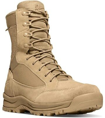 NEW Danner Tanicus Desert Rough-Out Military Boots, 8