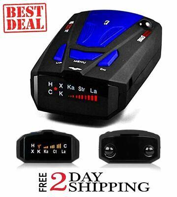 Best Laser Camera Radar Detector Cop Cars Police Scanner Real Kit 360
