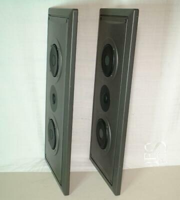 JVC SP-T325 Flat Panel Slim Wall Mount 120W Speakers Rare & Unusual SPT325