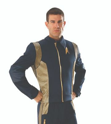 Rubies Deluxe Star Trek Discovery Command Jacket Adult Halloween Costume 821204 - Find Halloween Costumes