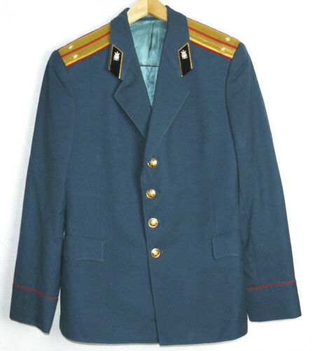 Blazer Uniform Jacket Parade Soviet Russian Army Military Lieutenant Tunic