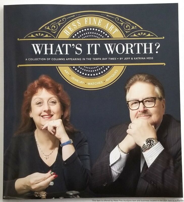 New Hess Fine Art Whats It Worth Collection Of Antique Auction Book price guide
