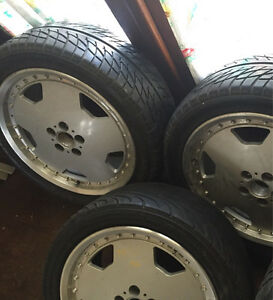 17inch AMG style alloy rims with tyres only 3 wheels Sunshine Brimbank Area Preview