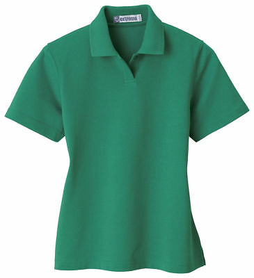 Extreme Women's Moisture Wicking Short Sleeve Performance Polo Shirt. 75051 Ladies Short Sleeve Polo Shirt