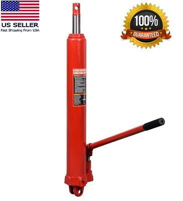 Long Ram (8 Ton Hydraulic Long Manual Ram Jack Pump Engine Lift Hoist Cherry Picker )