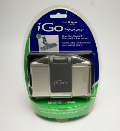 iGo Stowaway Ultra-Slim Bluetooth full-size Keyboard for smartphone folding