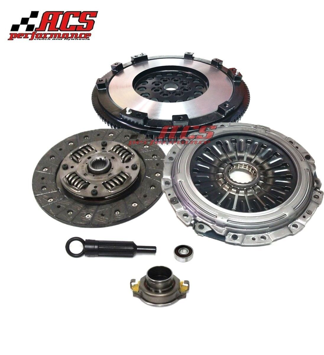 Oem Premium Clutch Kit+Flywheel For 2004-2010 Subaru