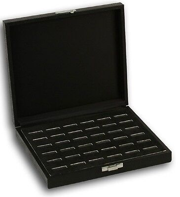 New 36 Ring Wood Jewelry Tray Ring Holder Box Case Display Case Storage