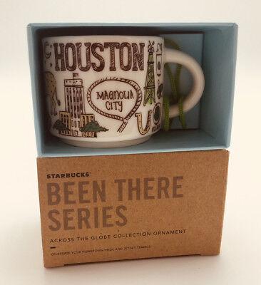 - 2018 NEW Houston Ornament Been There Series Demitasse 2 oz Mini Mug W/ Box