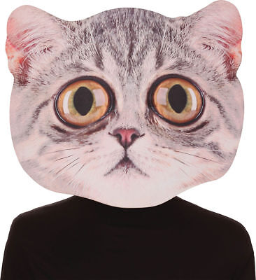 Morris Costumes Adult Unisex Cool Big Eyed Cat Foamboard Mask One Size. SE17948](Cool Guy Costumes Halloween)
