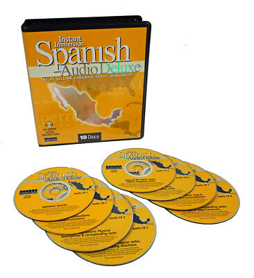 Learn to Speak SPANISH Language (8 Audio CDs) Listen,Learn,Practice in your car