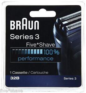 NEW-BRAUN-32B-SERIES-3-390CC-380-360-350-340-Shaver-Razor-FOIL-CUTTER-CASSETTE
