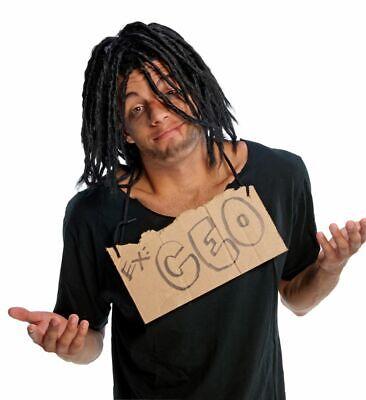 Rubies Down n Out Dreadlocks Black Adult Wig Halloween Costume Accessory - Dreadlock Wig Halloween