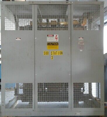 Westinghouse Power Center Transformer 215p074h01 Substation 100013200 Kva