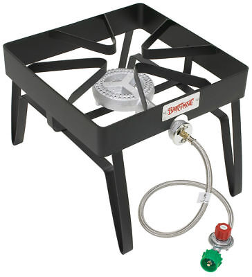 Bayou Classic SQ14 Single Burner Outdoor Patio Stove 55,000 BTU
