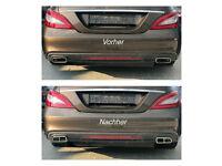 For Mercedes C207 A207 W212 E350  Rear Passenger Right Bumper Moulding Genuine