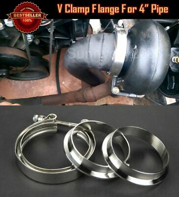 T304 Stainless Steel V Band Clamp Flange Assembly For Dodge 4