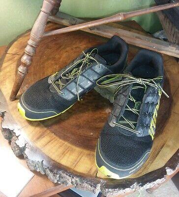 INOV-8 Bare-XF 210 Black/Yellow Sz 10 Men 11.5 Women Barefoot Running Shoes
