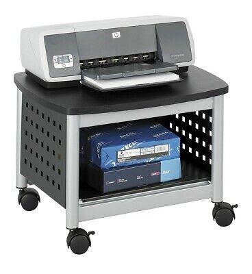 Safco Scoot Printer Stand 20-14w X 16-12d X 14-12h Blacksi 073555185522