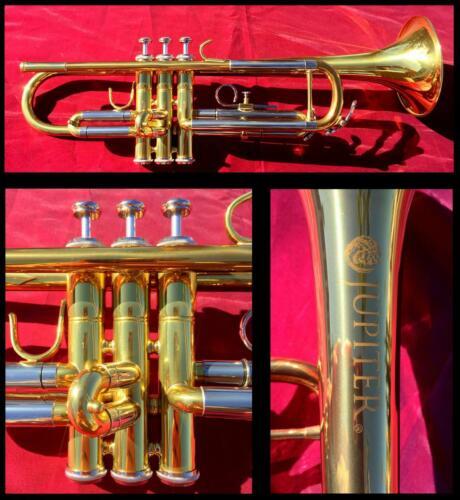 Jupiter JTR700 Bb Trumpet SUPER LOW MILES   Serviced   + Hard-Case & Mouthpiece