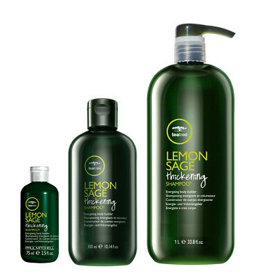 Paul Mitchell Tea Tree Lemon Sage Thickening Shampoo Paul Mitchell Lemon Sage