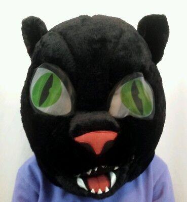 Cougar Cat Panther Mask Halloween Costume Big Heads Maskimals Furry Cosplay  (Cougar Halloween)