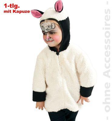 Fri -Kinder Kostüm Schaf Lamm Oberteil Karneval Fasching - Lamm Kinder Kostüme