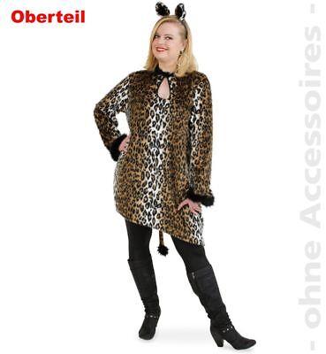 Fri -Plus Size Damen Kostüm Leo Katze Big Shirt Karneval Fasching  ()