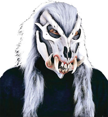 Morris Costumes Horror Halloween Wild Thing Full Overhead Latex Mask. 3523BS (Wild Thing Costume Halloween)