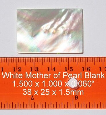 1 set inlay 12pcs white mother of pearl dots shell blanks 4.0 mm