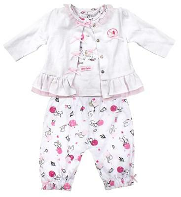 Girls Baby Ballerina Elephant Jacket Top & Trousers Outfit Newborn to 12 Months (Newborn Ballerina Outfit)