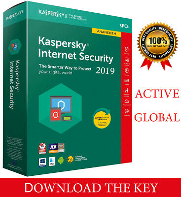 Kaspersky INTERNET Security 2020  3PC/ 3 DEVICE/1 Year / Global-Key 14.15$ segunda mano  Embacar hacia Argentina