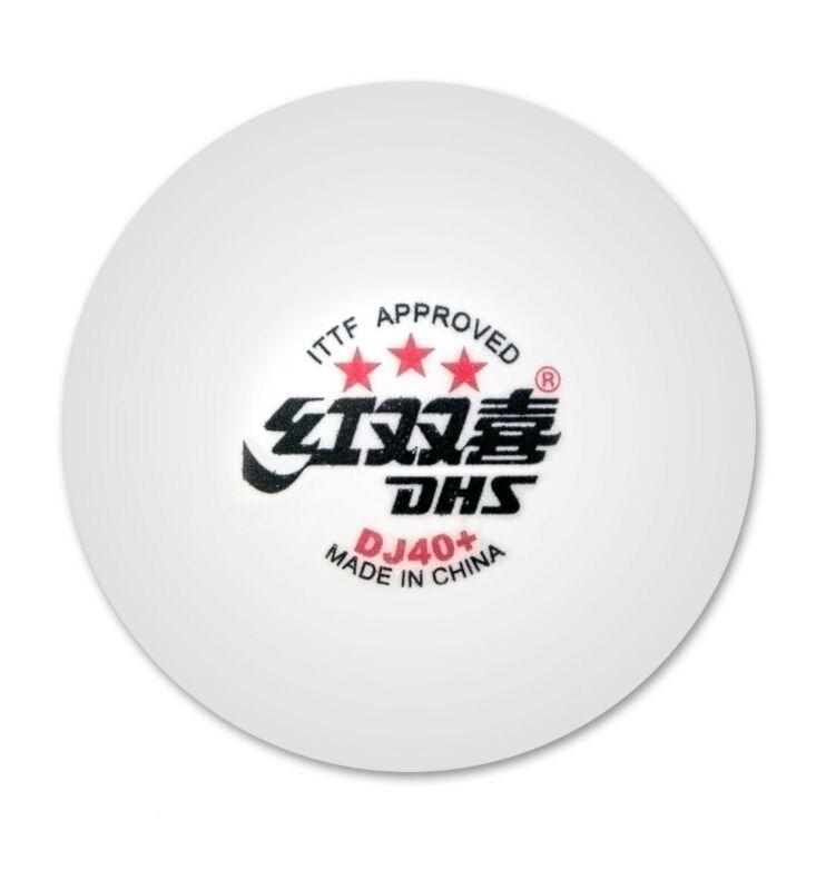 DHS DJ40 World Tour 3-Star6 Balls (ITTF APPROVED)