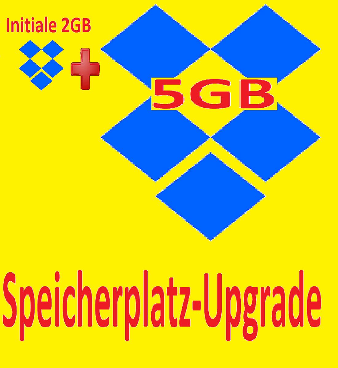 Dropbox Erweiterung ⭐  5GB ⭐Speicherplatz ⭐Upgrade Service⭐