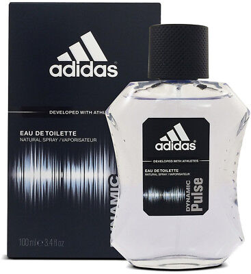 Adidas Mens Edt Spray - Adidas DYNAMIC PULSE Cologne for Men 3.4 oz edt 3.3 Spray New in BOX
