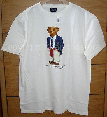 Polo Ralph Lauren Bear T- Shirt*NEW WITH TAG/Size LARGE**