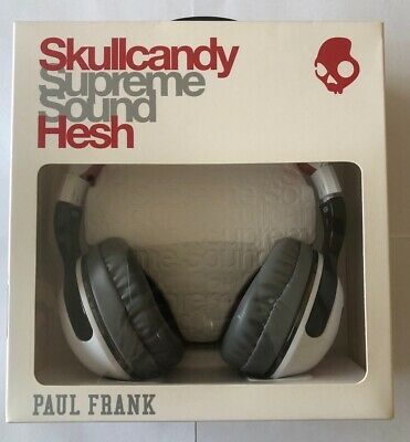 Skullcandy Hesh 2 Headphones Paul Frank Scholastic Julius/White/Black - RARE