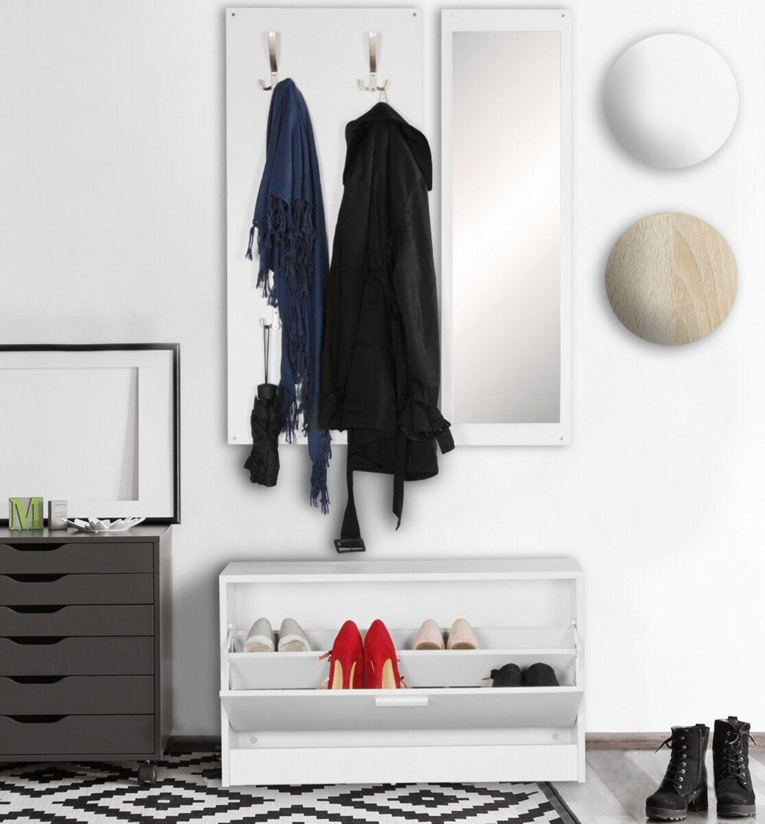 Armadio a muro con specchio armadio compatto corridoio completo guardaroba sala