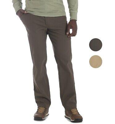 Wrangler NEW Solid Men's Performance Series Outdoor Comfort Straight Leg (Mens Nylon Pant)